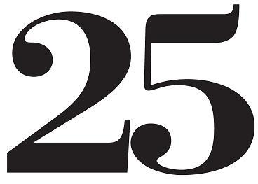 Twenty-five!