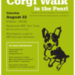 Doing Doggone Good:  The Corgi Walk In The Pearl