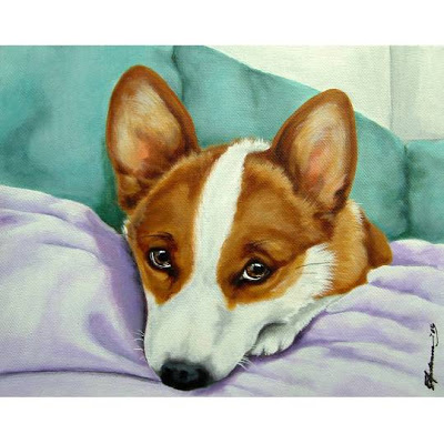 Don't miss tomorrow's Corgi Art-a-Palooza!