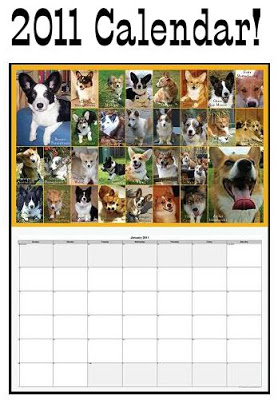 The 2011 Daily Corgi Calendar