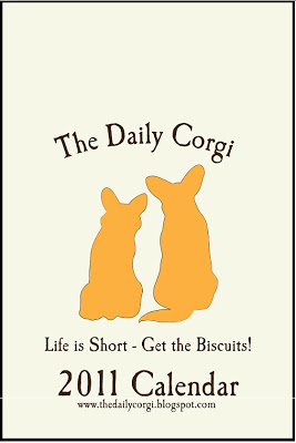 The Daily Corgi 2011 Calendar …