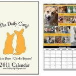 The 2011 Daily Corgi Calendar raises $1,700 for CorgiAid!