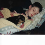 A boy and his dog:  Cole and Jammer!