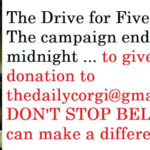 The Drive for Five:  DON'T STOP BELIEVIN'!!!