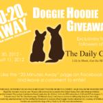 Daily Corgi Doggie Hoodie GIVEAWAY!