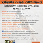 Howling Kansas Corgi Gathering — October 27th, 2012!