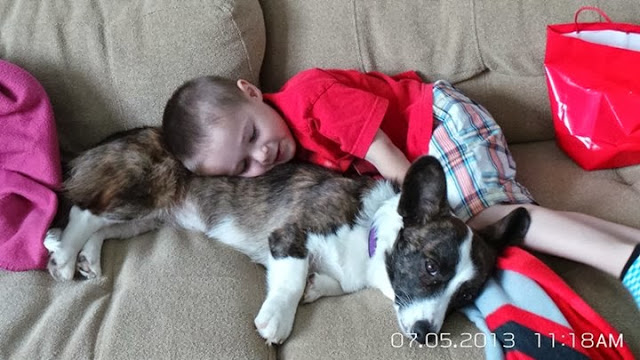 Sunday Snoozers: River And His Boy Cole