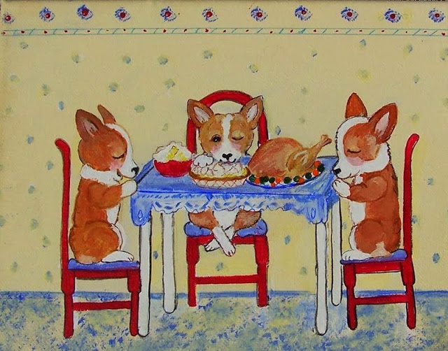 Happy Thanksgiving, #Corgi Nation!