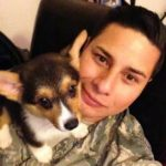 Military Monday: Staff Sgt. Nicholas Carzis & Corgis Gwen, Ein and Logan!