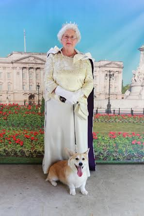 "Wally met ""The Queen""."