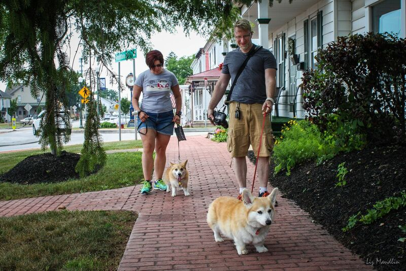 Bob Corgi, Lola, Ann Marie and Chris Brock