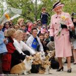 Ever seen Queen Elizabeth giggle?