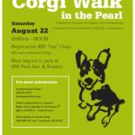 Doing Doggone Good:  The Corgi Walk In The Pearl