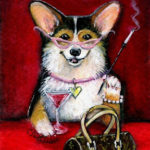 New!  Art prints from The Christmas Corgi added to to the Giveaway …