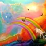 The solace of The Rainbow Bridge.