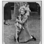 H.R.H. Princess Elizabeth and her Corgi, 1936