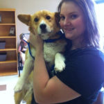 Adoptable Harry of Texas: Photo with his new Mom!