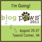 One week 'til BlogPaws 2011!