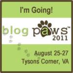 One week 'til BlogPaws 2011!