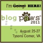 BlogPaws check-in!