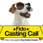 Fido Casting Call:  Support Guide Dogs Canada with just a vote!