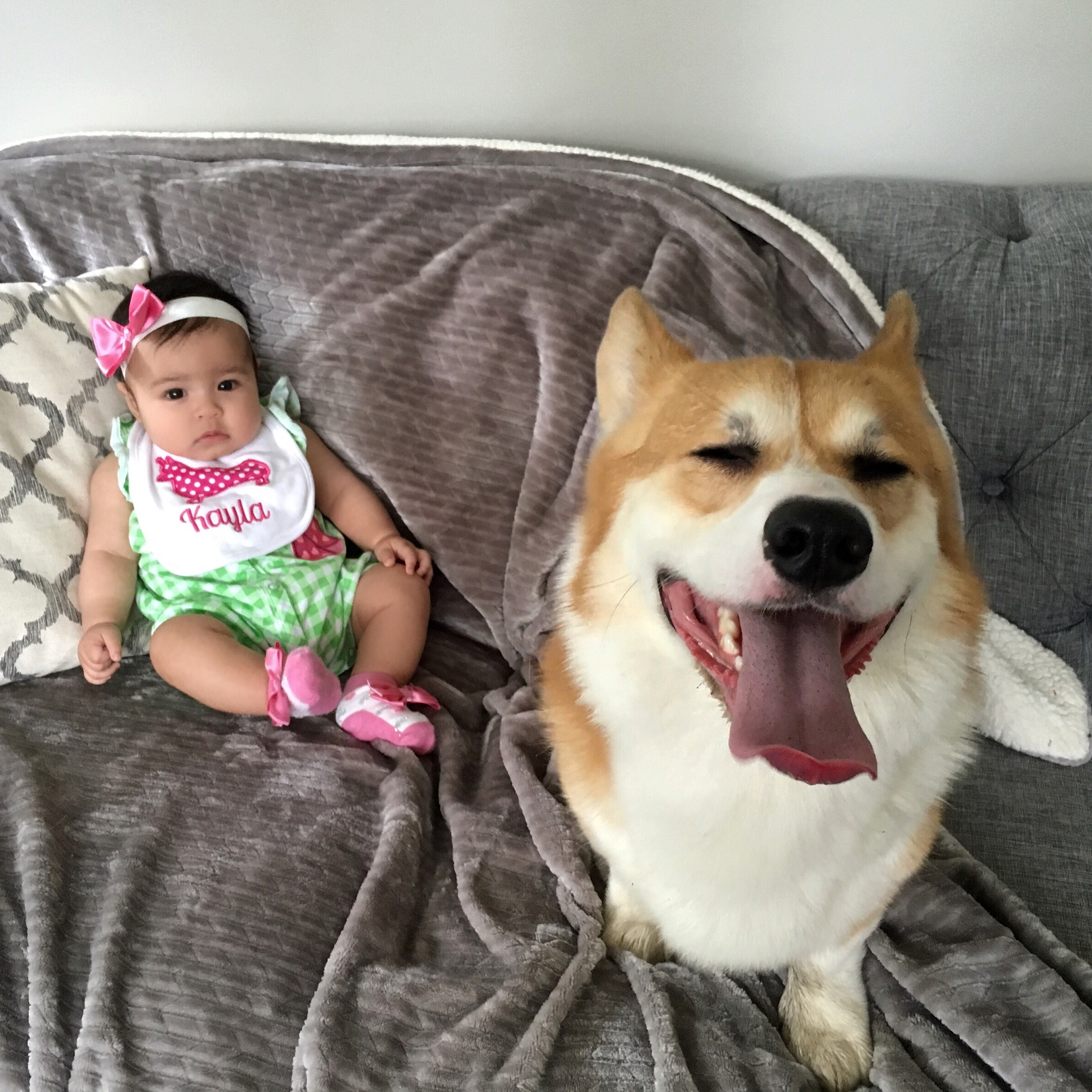 Max TheCorgs and Kayla